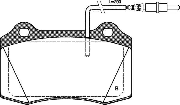BPA0434.14 OPEN PARTS