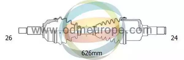 18-121050 ODM-MULTIPARTS