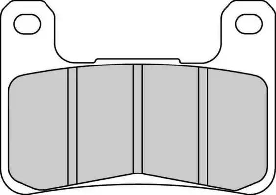 FDB2178XRAC FERODO RACING